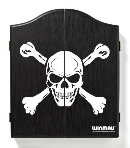 WINMAU, Armadietto per Bersaglio, Colore: Nero/Bianco