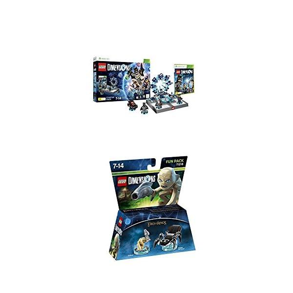LEGO - Starter Pack Dimensions (Xbox 360) + LEGO Dimensions - Figura El Señor De Los Anillos, Gollum 1