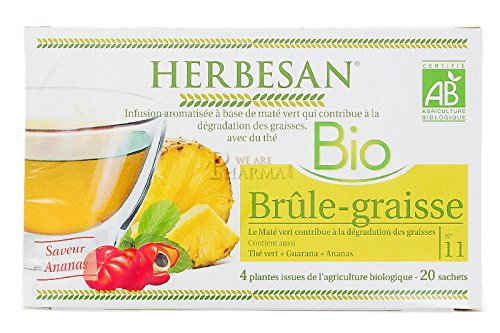 Herbesan Infusion Bio Brûle-Graisse 20 Sachets