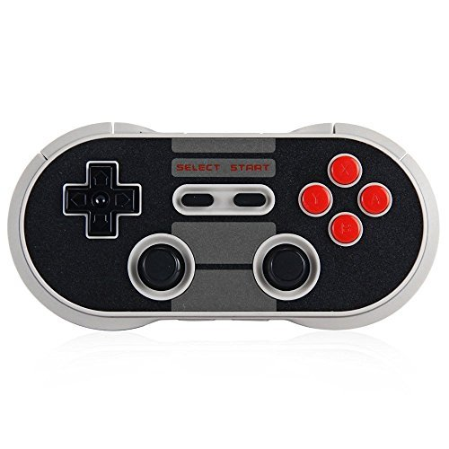 Sudroid 8BITDO NES30 Pro Wireless Bluetooth Controller Dual Classic Joystick For Android Gamepad - PC Mac Linux
