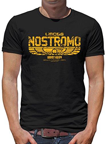 TLM USCSS Nostromo T-Shirt Herren XXL Schwarz