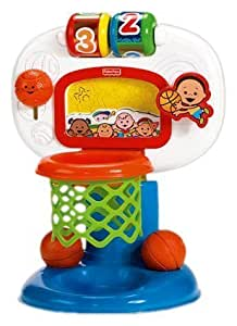 Fisher-Price Brilliant Basics Dunk 'n Cheer Basketball
