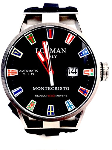 LOCMAN MONTECRISTO Automatic Watch Flag 850 List Euro 44 MM