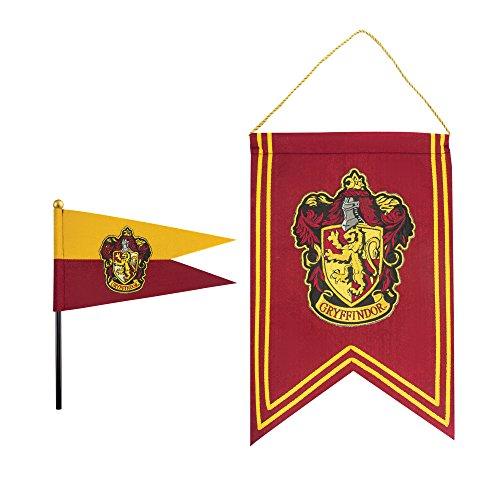 (Cinereplicas Harry Potter - Banner und Flaggen Set - 30 x 43cm - Offiziell (Gryffindor))