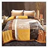 Hyvaluable Decke Raschel Wird durch Decke Mode-Stil Double Layer Blanket Free Style verdickt