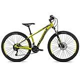 ORBEA MX 40 XS 27 Jugend Fahrrad 27 Gang Kinder MTB Rad Aluminium Mountain Bike, J02714, Farbe Grün Schwarz