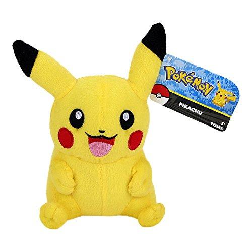 Preisvergleich Produktbild Pokemon - Pikachu - Plüschfigur | Kuscheltier | Nintendo
