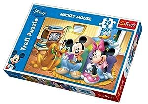 Trefl – Disney Puzzle – Mickey Mouse – Puzzle 24 Pièces 60x40cm
