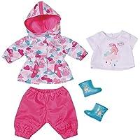 Zapf Baby Born Deluxe Fun in The Rain Juego de ropita para muñeca - Accesorios para muñecas (Juego de ropita para muñeca, 3 año(s),, 43 cm, Chica, 43 cm)
