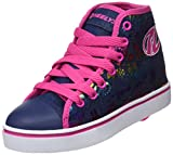 Heelys Veloz, Chaussures de Tennis Fille, Bleu (Dark Denim/Rainbow), 31 EU