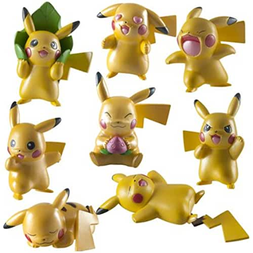 figuras kawaii Pokémon - Set de 4 figuras (Bizak 30698725)