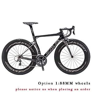 Carbon Rennrad,SAVADECK Phantom3.0 700C Rennrad Kohlefaser Rennräder Fahrrad...
