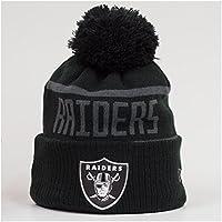 New Era NFL Oakland Raiders BC Cuffed Pom Knit