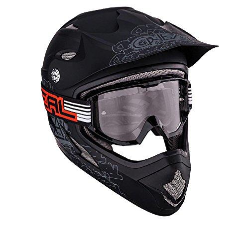 O'Neal Lunettes de moto-cross B1 Plat Black