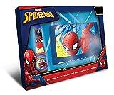 Disney Set Reloj mas Billetera Spiderman Marvel con Caja Regalo