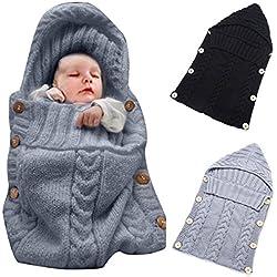 OENBOPO - Manta envolvente para bebé recién nacido - Manta de arrullo para bebé - Saco de dormir para bebé de 0-12meses