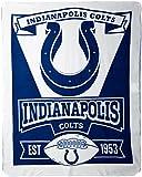 Northwest NFL Dallas Cowboys, bedruckte Fleece-Decke, Jungen damen Mädchen unisex Herren, 1NFL/03102/0008/AMZ, Indianapolis Colts, 50