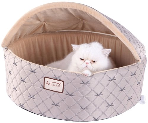 armarkat-cat-bed-medium-pale-silver-and-beige-by-armarkat
