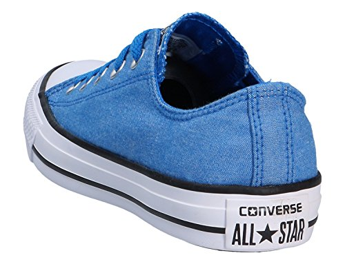 Converse Mens Chuck Taylor Oxford Cotton Trainers Soar/White/Black