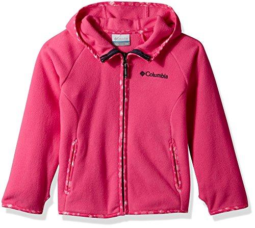Columbia Kinder 'S Fast Trek Fleece Full Zip Hoodie XL Wild Geranium - Trek Full Zip Hoodie