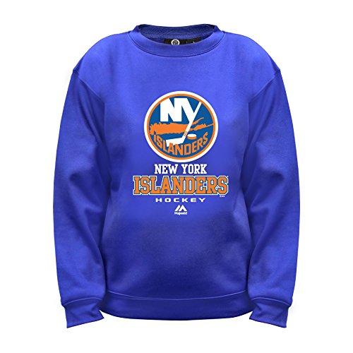 Profile Big & Tall NHL New York Islanders FC Lange Ärmel Fleece Crew Neck Top, Größe S, royal (New York Islanders Hoodie)