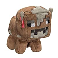 Minecraft 7182 Baby Cow Plush Toy, 7-Inch