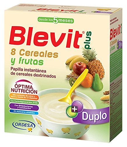 BLEVIT PLUS DUPLO 8 CEREALS AND FRUITS 600 G