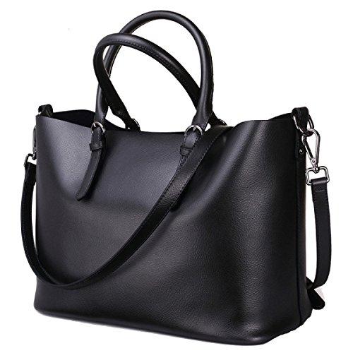Faux Leather Delle Donne Borse Messenger Bag Borse Delle Signore Multicolore Black