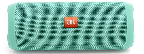 JBL FLIP 4 (Ein voll ausgestatteter, wasserdichter und mobiler Bluetooth-Lautsprecher mit überraschend kraftvollem Sound) türkis