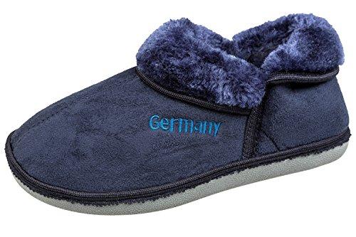 gibra, Pantofole donna Dunkelblau