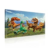 Arlo Spot The Good Dinosaur Leinwand Bilder (PPD2149O1FW) - Wallsticker Warehouse - Size O1 - 100cm x 75cm - 230g/m2 Canvas - 1 Piece