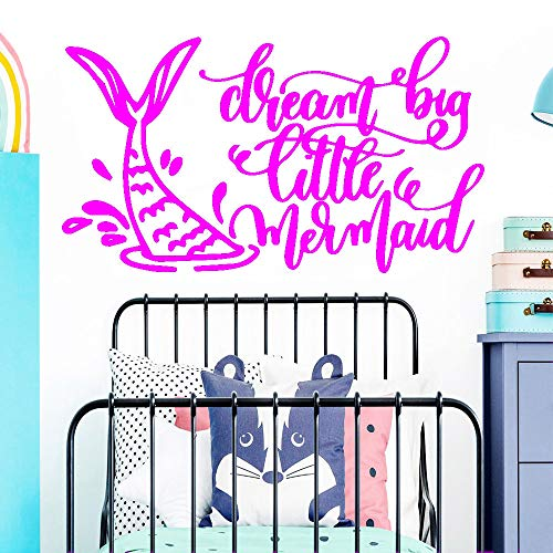 zqyjhkou Traum Große Cartoon Wandaufkleber Kunst DIY Poster Wohnzimmer Schlafzimmer Dekoration Aufkleber 4 L 42 cm X 75 cm -
