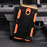 Cocomii Robot Armor Nokia Lumia 640 XL Coque NOUVEAU [Robuste] Supérieure Étui Clip De Ceinture Support Antichoc Rigide Couverture [Militaire Défenseur] Corps Entier Double Couche Solide Case Étui Housse | NEW [Heavy Duty] Premium Belt Clip Holster Kick