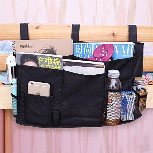 INOVEY 50x30cm Nachttischtasche Oxford Tuch Schlafzimmer StorageBag Sundries angeordnet Sofa Bettwäsche Zubehör - grau