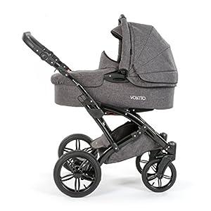 Knorr Baby voletto Carrito 2in1/Set con bañera y Buggy cochecito Aufsatz/Melange gris