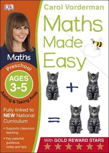 Maths Made Easy Adding And Taking Away Ages 3-5 (Made Easy Workbooks)