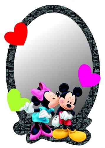 Minnie & Mickey Mouse Disney Spiegel Sagomato