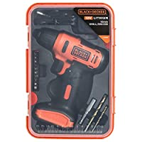 ‏‪Black & Decker Cordless Driver Dill 12V+13Pcs Accessories BoxLD12SP‬‏