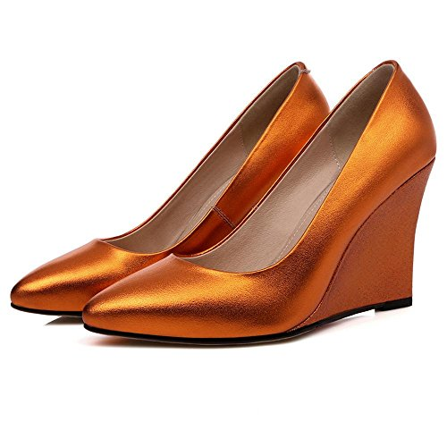 Zeppe Tacchi Alti Spessi Soled Ladies Altezza Casuale Alzando Scarpe Scarpe Da Pioggia Estate Chaussure roses gold