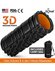 Dr Trust Long Acupressure Foam Roller for Deep Tissue Muscl
