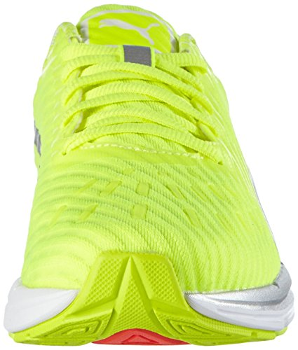 Puma Speed 300 Ignite Pwrcool Wn, Chaussures de course femme Jaune - Gelb (safety yellow-puma silver 02)