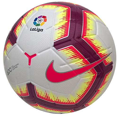 Nike - Balon LALIGA Merlin Omb Color: Blanco Talla: