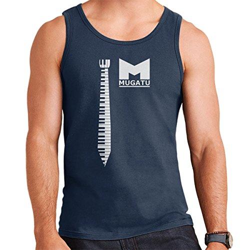 Fashion Victim Zoolander Men's Vest Navy Blue