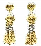 jewelshingar Bijoux Fine plaqué Dangle &–Boucles d'Oreilles Pendantes Femme–pour Femme (20022-ead)