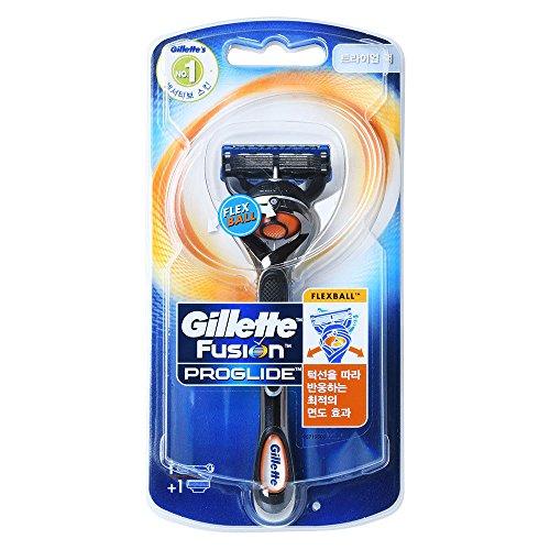 Gillette Fusion ProGlide Flexball Herren 1Rasierer mit 1Rasierklinge Trial Pack