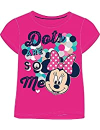 TDP Girls Minnie Mouse T Shirt Short Sleeve 100% Cotton 7-8 Years