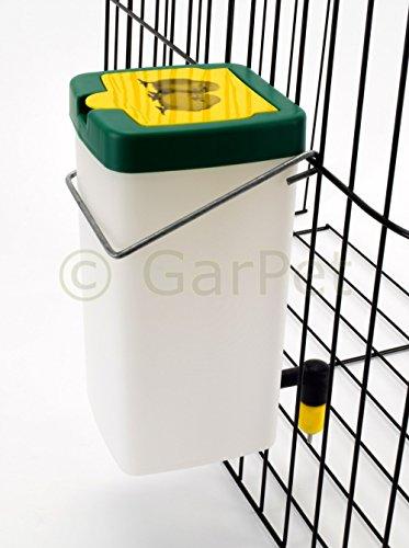 Küken Nager Hasen Kaninchen Hühner Geflügel Nippel Wasser Tränke Trinkflasche (1000 ml) - 2