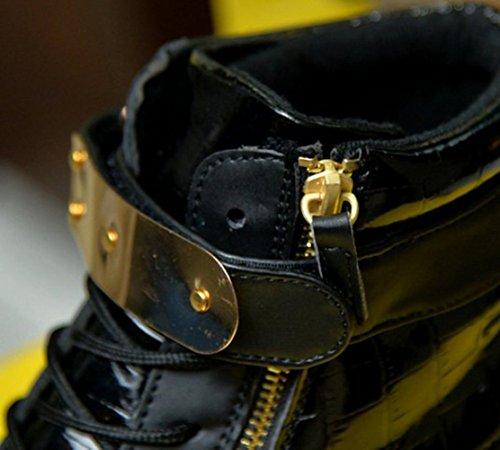 Aufladen Schuhe Laufschuhe licht Sportschuhe Sneaker Usb Wechseln Freizeitschuhe kleines junglest® Farbe Handtuch Schwarz Fü Mode Led 7 present Leuchtend Outdoorschuhe xzwaAZ0q7
