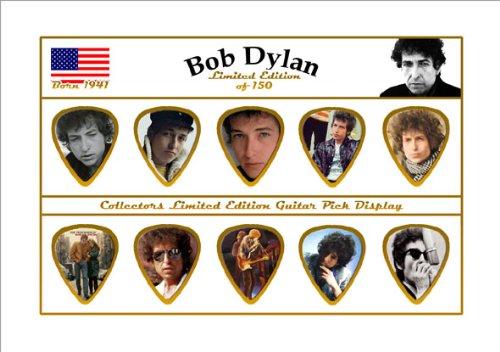 Bob Dylan Guitar Plektron Display Limited to 150 (Bob Dylan-gitarre Picks)