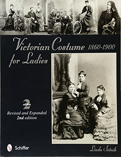 Victorian Costume for Ladies 1860-1900 (Victorian Lady Adult Kostüme)